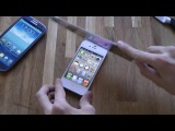 Samsung Galaxy S3 vs. Apple iPhone 4S - Knife Screen Scratch Test - YouTube